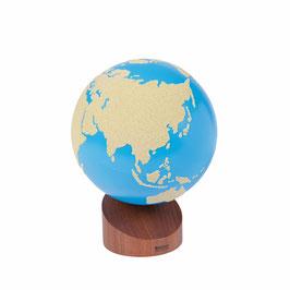 Globus Land und Wasser - Sandpapier