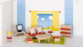 Puppenmöbel Wohnzimmer, goki basic.
