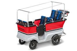 E-Turtle Kinderbus Basic für 6 Kinder