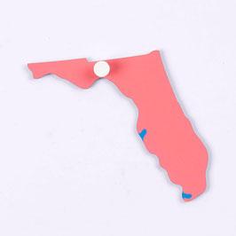 Puzzlekarte USA: Florida