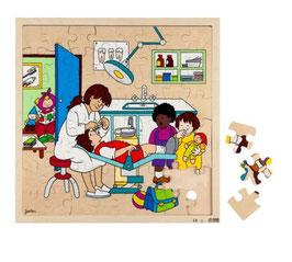 Puzzle Beim Zahnarzt