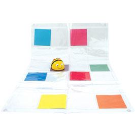 Bodenmatte – durchsichtige Fototaschen zum Selbstgestalten