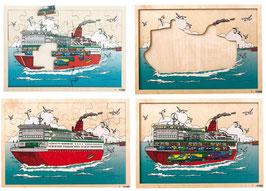 Einblickpuzzle Reiseschiff