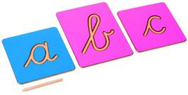 Rillenbuchstaben