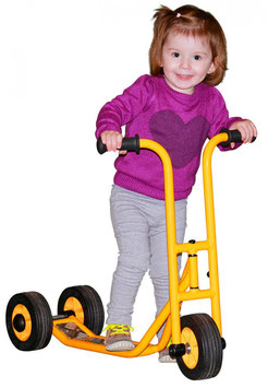RABO Mini Kinderroller mit 2 Hinterrädern