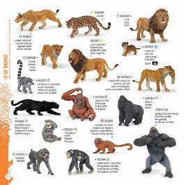 Wildtiere der Welt Set G