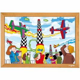 Power puzzle - Flugrennen