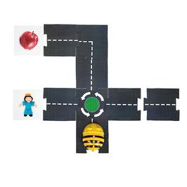 Straßenelemente für Bee-Bot und Blue-Bot