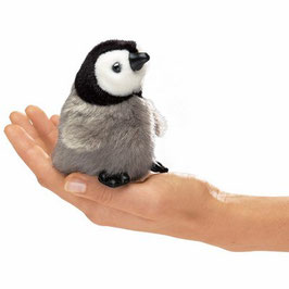 Folkmanis Fingerpuppe mini Baby Kaiserpinguin