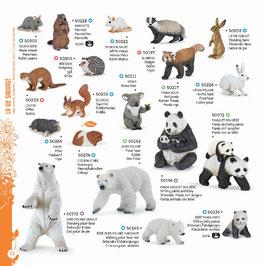 Wildtiere der Welt Set I