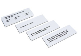 Land And Water Forms: Command Cards 1 (ENGLISCHE VERSION)