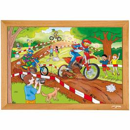 Power puzzle - Rennradfahren