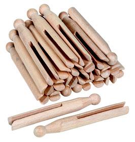 Wäscheklammern aus Holz (25)