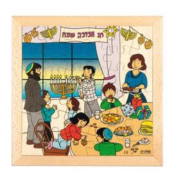 Puzzle Feierlichkeiten, Hanukkah Format: 28 x 28 cm, jeweils 36 Teile