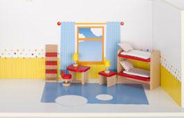 Puppenmöbel Kinderzimmer, goki basic.