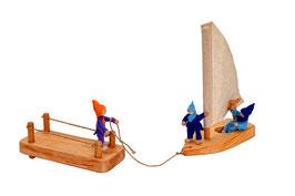 THSD Segelboot & Anleger