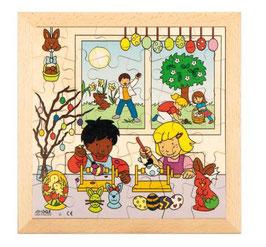 Puzzle Feierlichkeiten, Ostern Format: 28 x 28 cm, jeweils 36 Teile