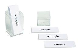 Geometric Beginning Labels (ENGLISCHE VERSION)