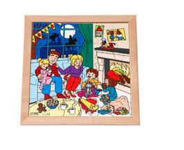 Puzzle Feierlichkeiten, Nikolaus Format: 28 x 28 cm, jeweils 36 Teile