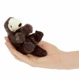 Folkmanis Fingerpuppe mini Seeotter