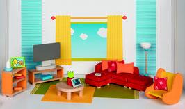 Puppenmöbel  Wohnzimmer