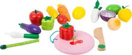 Schneide-Frucht- und Gemüse-Set magnetisch