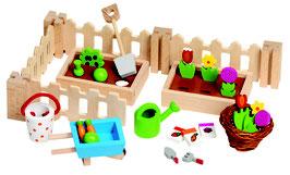 Accessoires Mein kleiner Garten, für die Puppenhäuser
