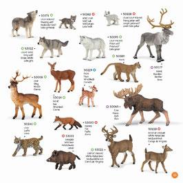 Wildtiere der Welt Set H
