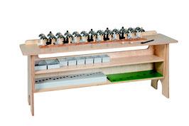Tisch für Glocken und Klangstäbe
