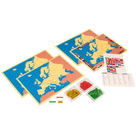 Four Maps Of Europe (ENGLISCHE VERSION)