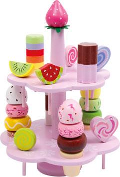 Etagere Süßigkeiten