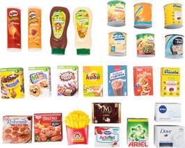 Markenprodukte für Kaufläden