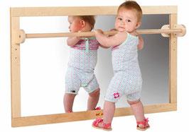 Kleinkind-Spiegel mit Holzstange
