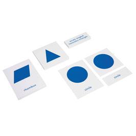 Geometric Cabinet Nomenclature Cards (ENGLISCHE VERSION)
