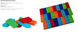 Spezielles Alphabet Set (Braile) 20350
