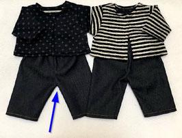 Bekleidung für Puppengröße 40-42 cm