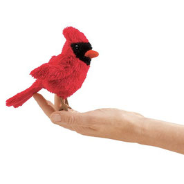 Folkmanis Fingerpuppe Mini Kardinalsvogel