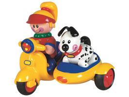 MEINE ERSTEN FREUNDE Der Beiwagen mit Hund