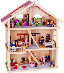 Puppenhaus 3 Etagen