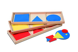 Satz Kreise, Dreiecke und Quadrate