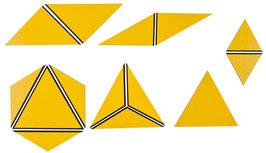 Satz konstructive Dreiecke gelb