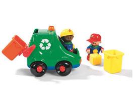 MEINE ERSTEN FREUNDE Laster zur Mülltrennung