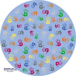 Teppiche Hände rund 200 cm