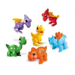 TOLO Dinosaurier 6er Set