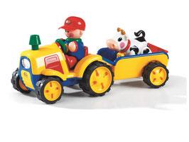 MEINE ERSTEN FREUNDE Der Traktor und Anhänger