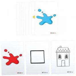 Logischer Baum – Symbolkarten – Lehrerset