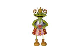 Froschdame mit Herz