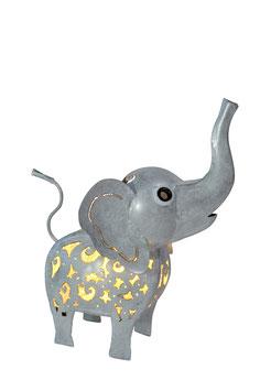 Elefant M in 2 Farben mit LED-Beleuchtung