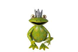 Froschkönig L sitzend