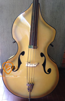 1957 Wandre Naika Freak Rare Upright Bass Golden Burst rif 11